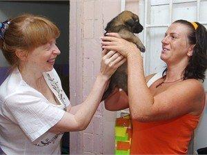 Щенок, вскормленный одесской кошкой, нашел свой дом (Фото), фото-1
