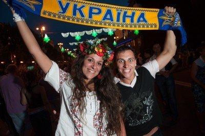 Фанаты Украины замахнулись на рекорд, фото-1