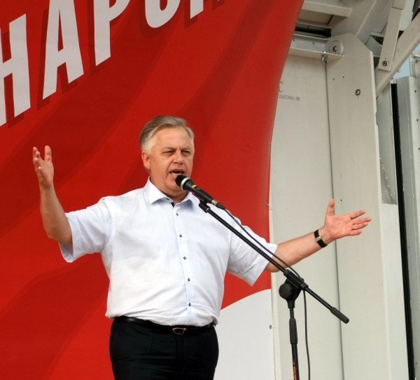 Симоненко в Донецке намекнул своим избирателям, что после выборов посадит Ахметова (фото), фото-5