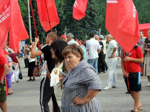 Симоненко в Донецке намекнул своим избирателям, что после выборов посадит Ахметова (фото), фото-9