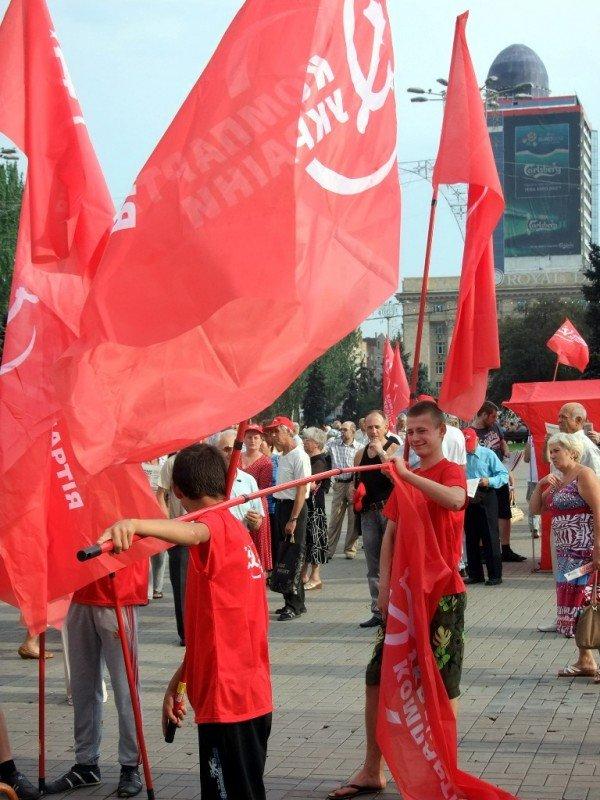 Симоненко в Донецке намекнул своим избирателям, что после выборов посадит Ахметова (фото), фото-10