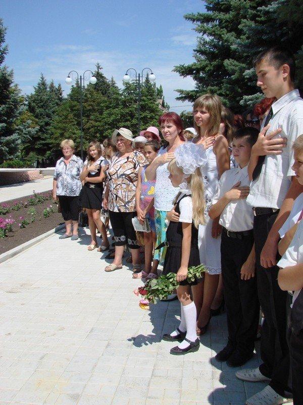 В Яковлевке Артемовского района восстановили памятник воинам, которые защищали село от фашистов, фото-8