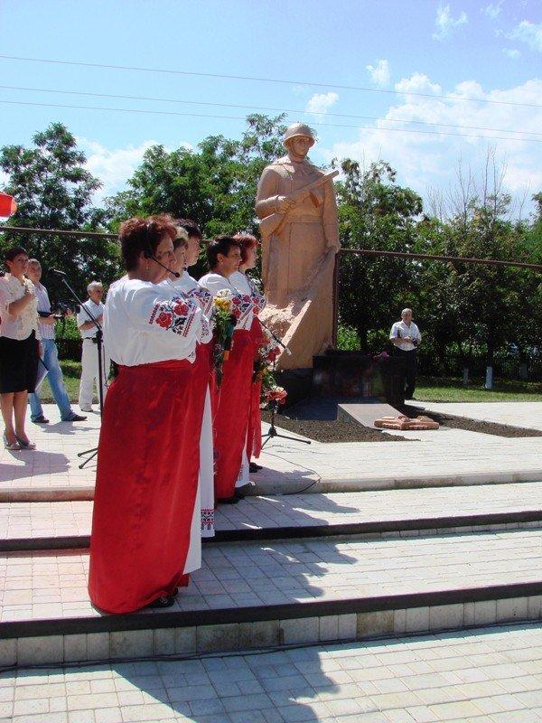 В Яковлевке Артемовского района восстановили памятник воинам, которые защищали село от фашистов, фото-9