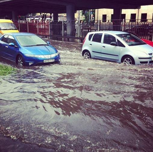 Москва: ливень 13 июля 2012 и его последствия (ФОТО), фото-5