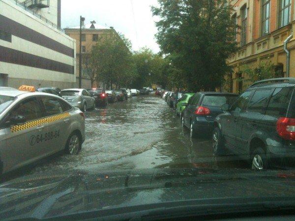 Москва: ливень 13 июля 2012 и его последствия (ФОТО), фото-1