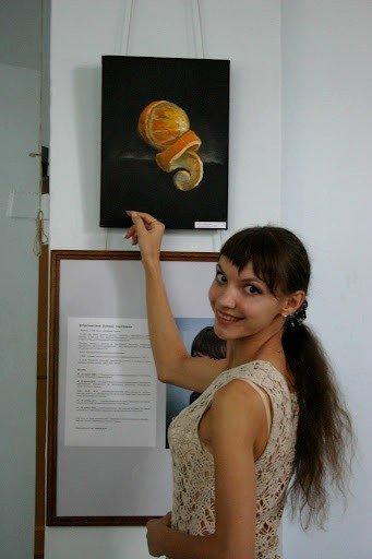Запорожская художница представила свои картины, которые рисует кофе и...вином (ФОТО), фото-5