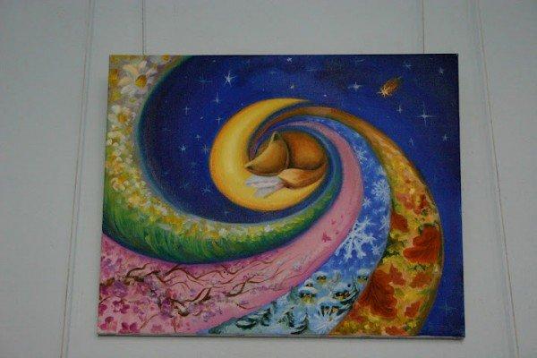 Запорожская художница представила свои картины, которые рисует кофе и...вином (ФОТО), фото-2