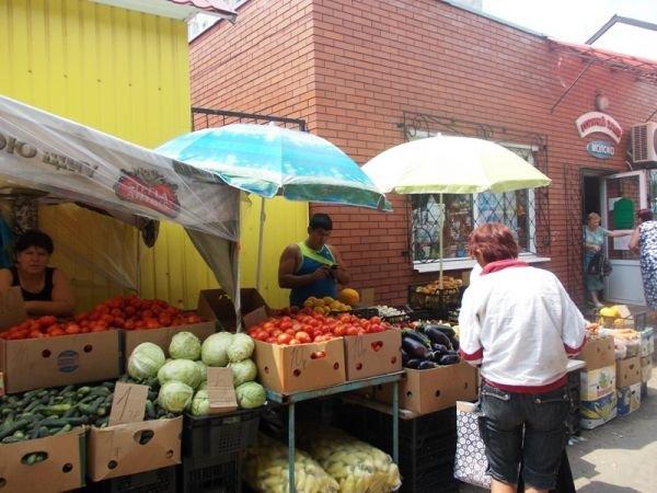 Сайт города Артемовска продолжает инспектировать торговые точки:  рынок «Юбилейный», фото-1