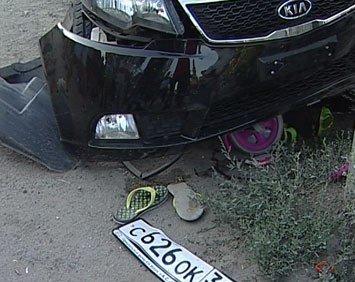 В Волгограде полицейский сбил мать и ее дочерей, фото-1