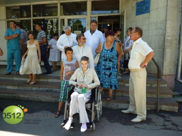 Сегодня Александру Попову перевели в санаторий «Ингул» (ФОТО), фото-2