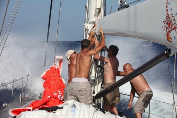 Мариупольские яхтсмены затерялись в Бермудском треугольнике, фото-10