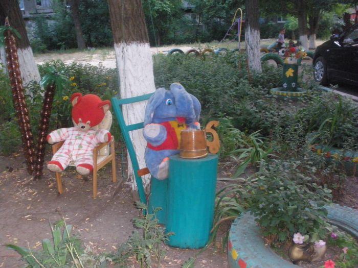 В мариупольском дворе ожила сказка (ФОТО), фото-3