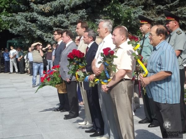 У Луцьку вшанували 68-річницю визволення Волині від фашистів (ФОТО), фото-1