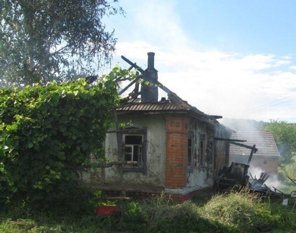 У Роменському районі внаслідок пожежі одна людина загинула, ще одна – травмована, фото-1