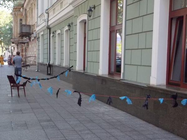 Возле одесской прокуратуры опасно ходить (Фотофакт), фото-1