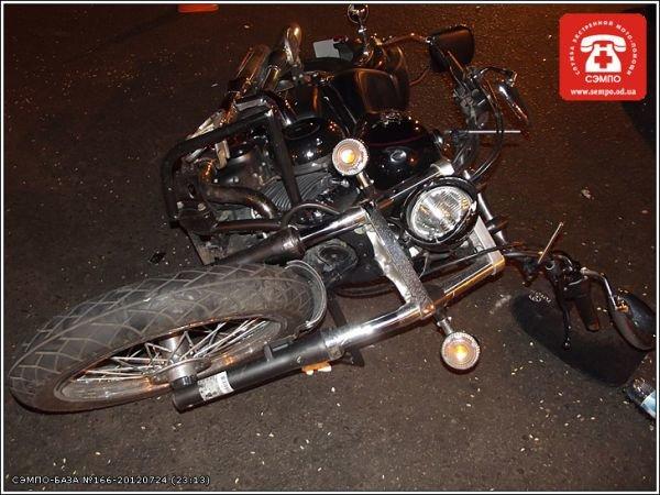 В центре Одессы в аварию попал очередной мотоциклист (Фото), фото-1