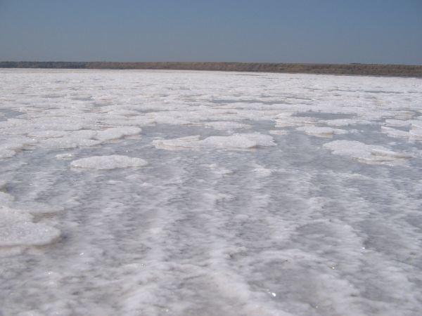 На Куяльницком лимане уникальное природное явление - там выпала соль (Фото), фото-1