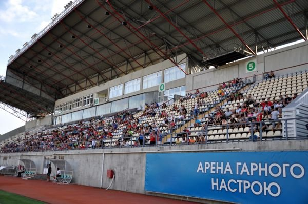 ФОТОРЕПОРТАЖ: Запорожский Металлург провел открытую тренировку, фото-1