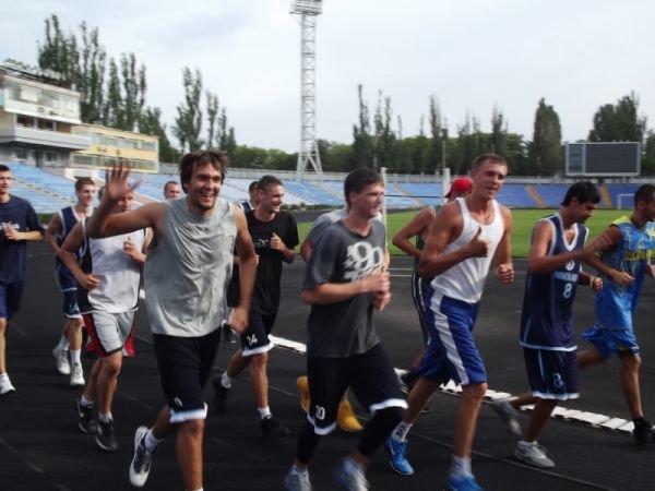 Прошла первая тренировка обновленного состава МБК «Николаев», фото-1