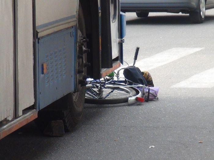 В Мариуполе «рогатый» начал бодаться. Сбил молодую велосипедистку (ФОТО), фото-2