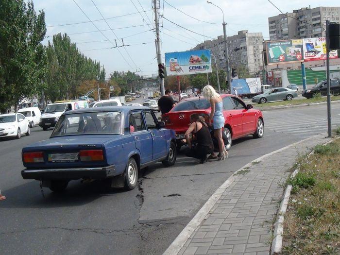 Да что ж такое! Еще одна авария на пр. Металлургов (ФОТО), фото-4