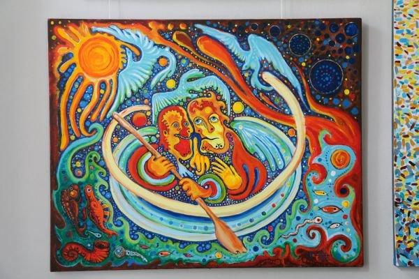 В Симферополе показали «Знамение» ялтинского художника (фото), фото-1