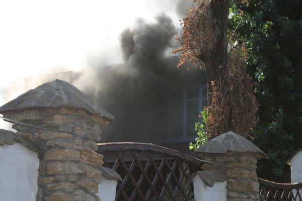 В Кривом Роге горит ресторан «Авто-гриль Мисливець» (ФОТО. Дополнено), фото-5