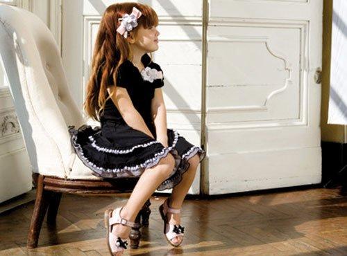 девочка модница