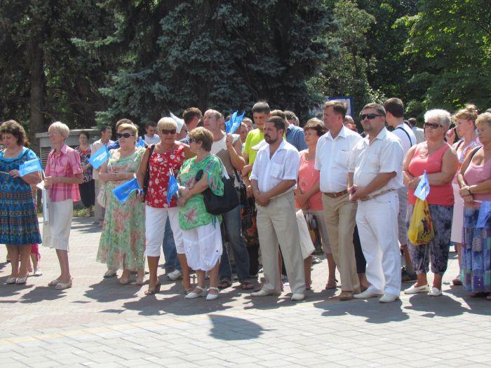 В Мариуполе  провели  митинг  в поддержку скандального  языкового  закона (ФОТО), фото-2