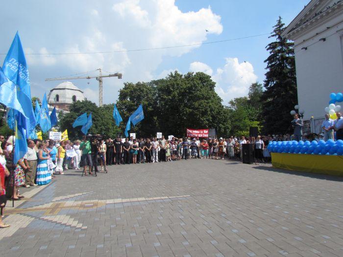 В Мариуполе  провели  митинг  в поддержку скандального  языкового  закона (ФОТО), фото-4