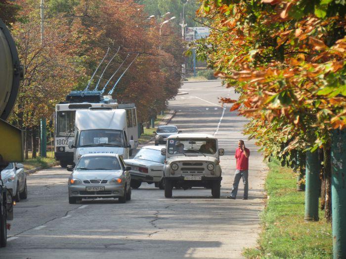 В Мариуполе большегруз с «негабаритом» парализовал движение транспорта (ФОТО+ВИДЕО), фото-9