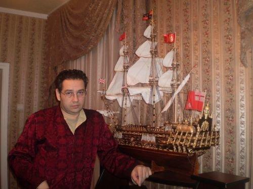 Создатель легенд из Днепропетровска за девять месяцев «родил» корабль (ФОТО), фото-1