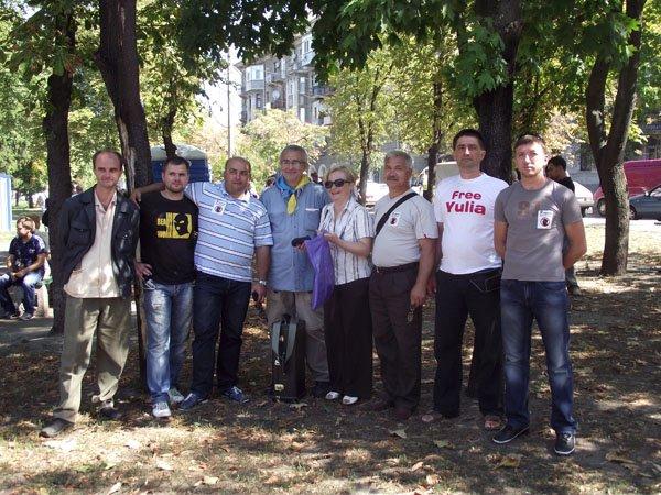 представители Горловской оппозиции