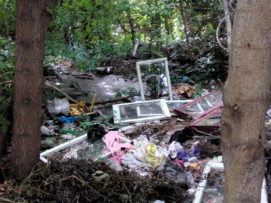 мусор болото