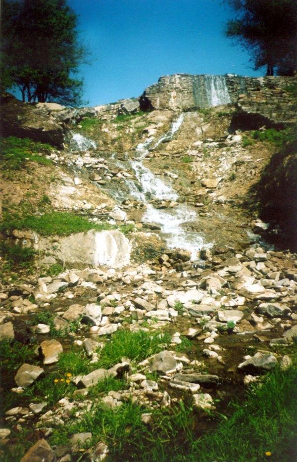 река Железная балка в районе поселка шахты№5