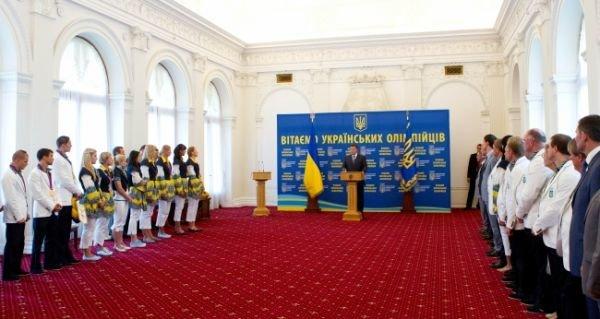 Янукович в Крыму чествовал олимпийских чемпионов (фото), фото-1