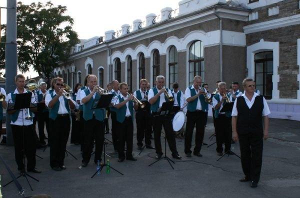 Кривой Рог торжественно проводил команду «Майданса» (ФОТО), фото-1