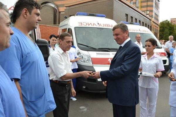 В Кривом Роге врачи «скорой помощи» пересядут на «Peugeot» (ФОТО), фото-1