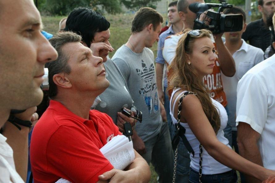 кандидат Веселовский пришел послушать кандидата Дзоз