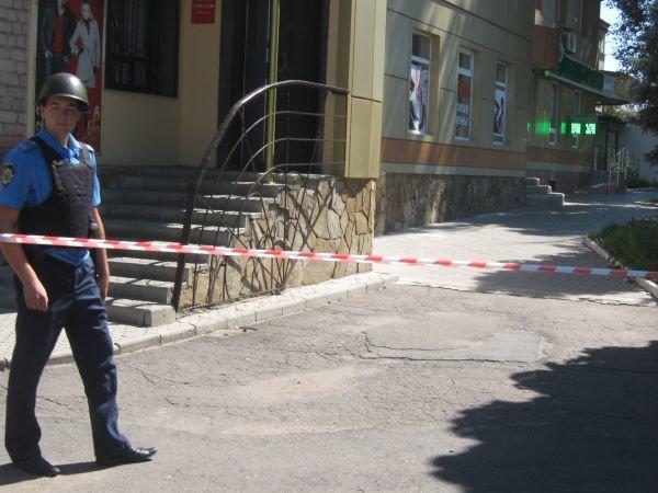 В Красноармейске неизвестный сообщил о том, что банк заминирован, фото-1