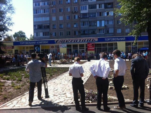 Состоялось торжественное открытие сквера на ул. Ленина в Кривом Роге (ФОТО), фото-4