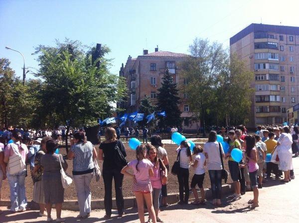 Состоялось торжественное открытие сквера на ул. Ленина в Кривом Роге (ФОТО), фото-3