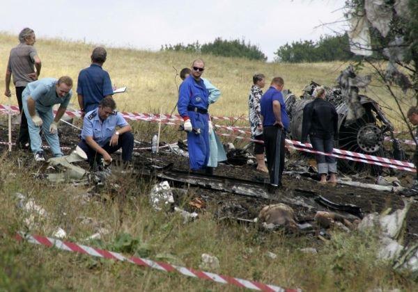 Работы на месте падения российского самолёта - 8 Gor