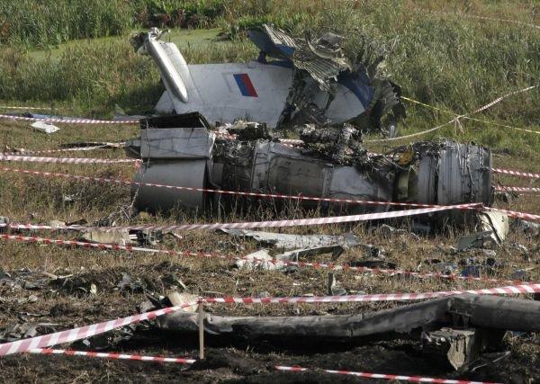 Работы на месте падения российского самолёта - 1 Gor