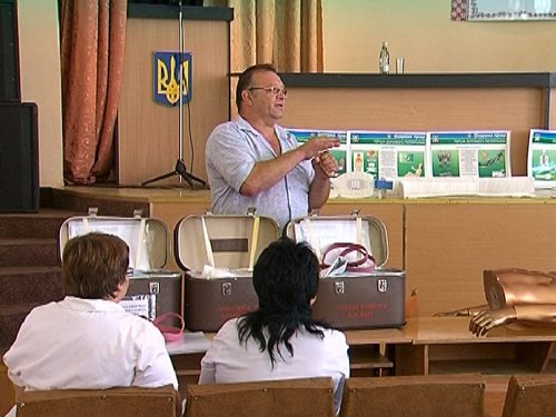 В Мариуполе сотрудников ГАИ обучили азам медицины (ФОТО), фото-3
