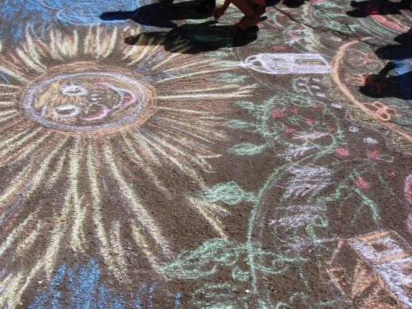 В Кривом Роге воспитанники приютов соревновались в конкурсе рисунков на асфальте (ФОТО), фото-7
