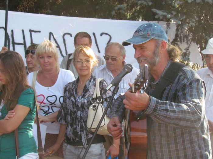 В Мариуполе требовали вернуть на экраны ТВі (ФОТО видео), фото-9
