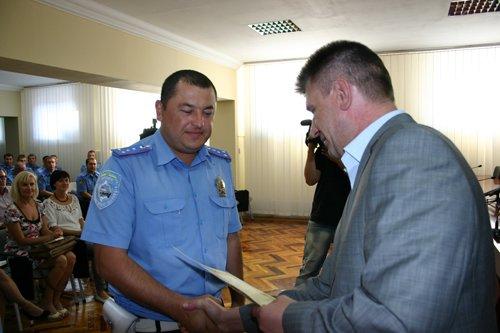Мариупольских милиционеров наградили за спокойствие в Евро 2012 (ФОТО), фото-1