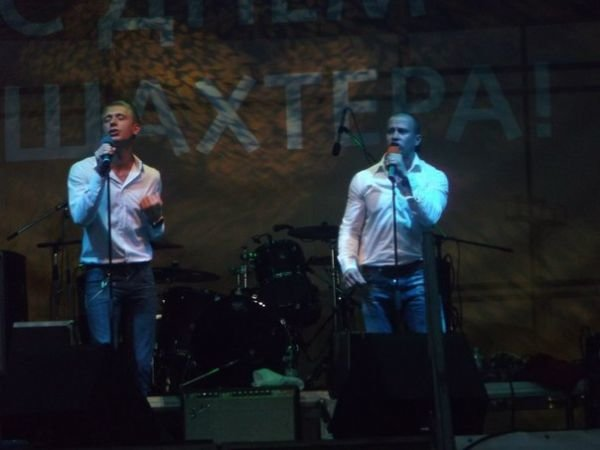 Хореографы команды Майдан's Коля и Жора выступили в Кривом Роге на концерте ко Дню Шахтера (ФОТО), фото-1