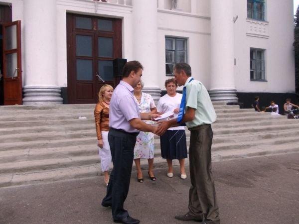 Артемовск: ко Дню независимости «Цветмет» поощрял жителей микрорайона, фото-4